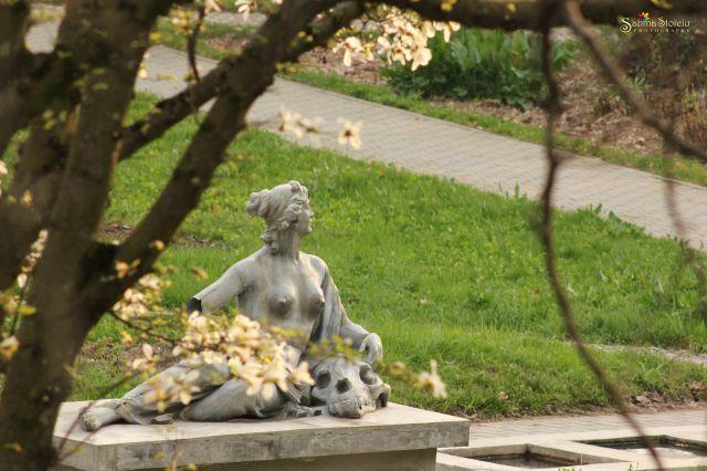 Statuie-Gradina Botanica Cluj
